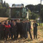 Les élèves de Seconde et Première Pro CGEA : Récolte du Maïs