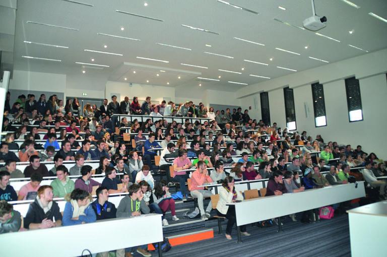 L'amphithéâtre lors d'une conférence
