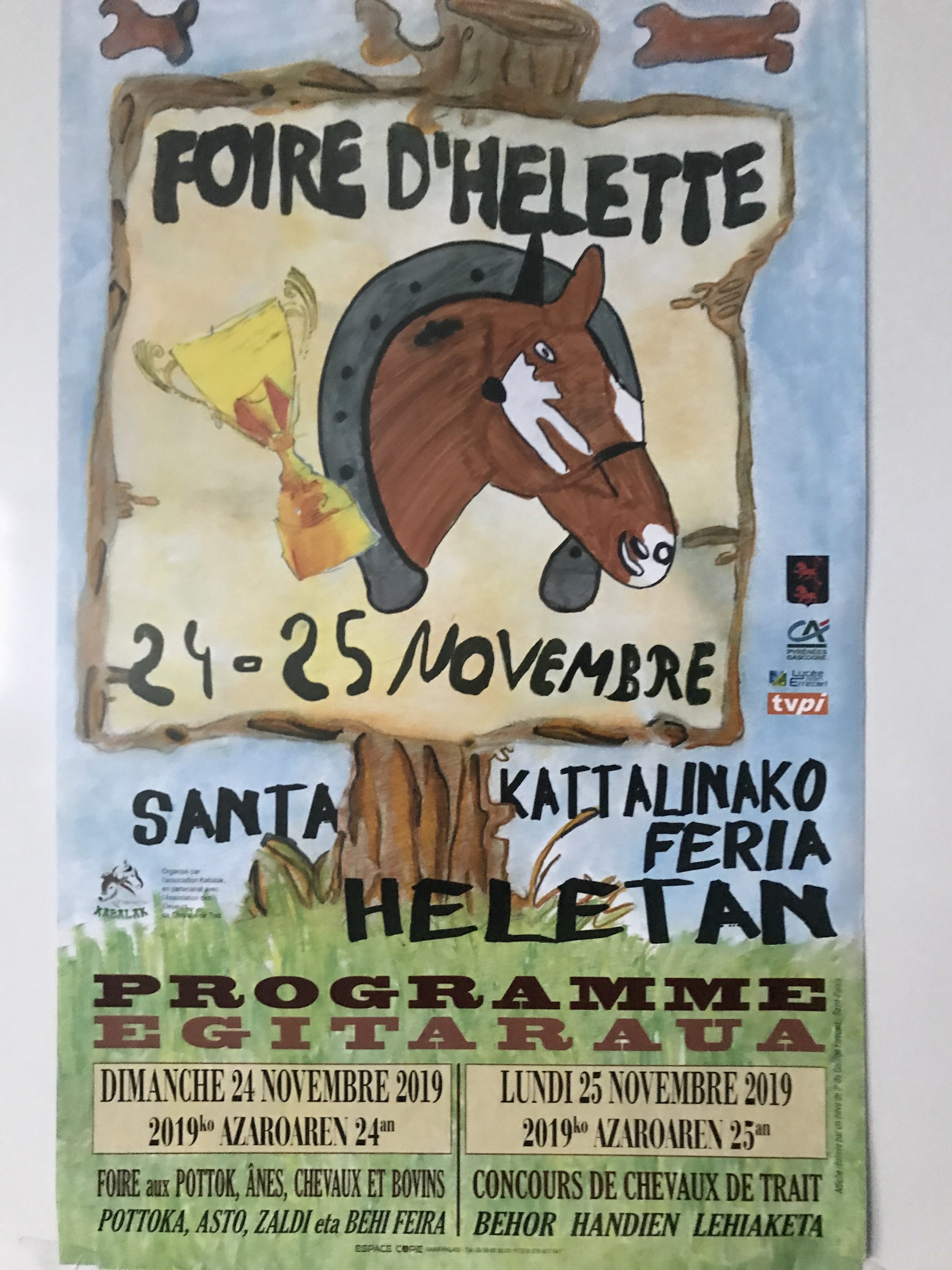 2019 affiche Helette