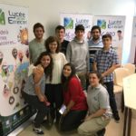 Accueil d'étudiants argentins et chiliens par Mme Payas, Directrice adjointe